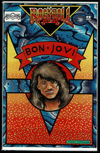 Rock N' Roll Comics #3 (Sept 1989) Bon Jovi - Revolutionary - Combine Shipping