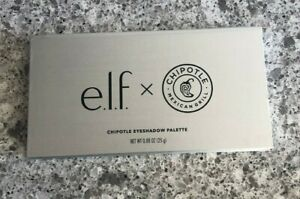 e.l.f x Chipotle 12 Color EYESHADOW PALETTE New Sealed ELF rare makeup limited