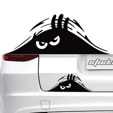Black Peeking Monster Funny Cute Sticker Vinyl Waterproof Decal For Car WindowX2
