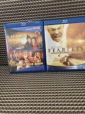 Hero / Never Back Down + Fearless (Blu-ray) Jet Li 3 Action Film Lot
