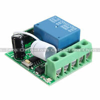 1 Channel Receiver Wireless Relay RF Remote Control Switch Module DC 12V 433MHZ