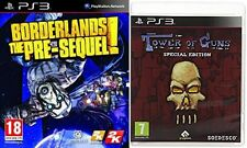 tower of guns special edition & borderlands the pre-sequel  PAL PS3 new&sealed