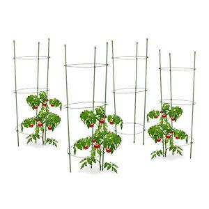 Tomatenspiralstab H:200cm Ø6,8mm Rankhilfe Rankstab Pflanzstab Garten Terrasse