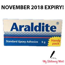 9g Araldite Standard Epoxy Adhesive Glue 2 Part with Resin & Hardener