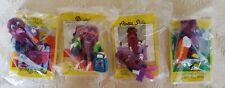 California Raisins Hardee's Series 4 Complete Set - Nip - 1991 Vintage Toy Set
