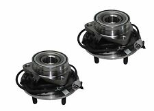 Pair: 2 New DTA Front Wheel Hub Bearing Assembly Fit Ram 1500 4WD Only With ABS