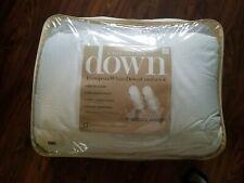 Charter Club King Down Comforter European White Medium Weight