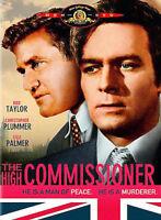 HiGH COMISSIONER (1968) DVD (R.1-US) BRAND NEW- Christopher Plummer spy classic