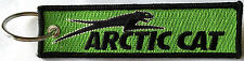 Arctic Cat Key Chain, for Snowmobiles, ATVs, Green