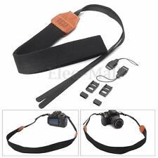 Vintage Black DSLR Camera Neck Shoulder Strap Belt For Canon Nikon Pentax Sony