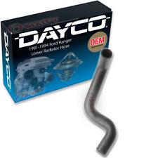 Dayco Lower Radiator Hose for 1991-1994 Ford Ranger 3.0L V6 - Engine Coolant xd