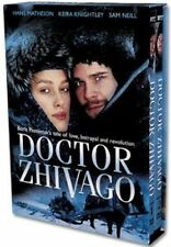 Doctor Zhivago (2002) Keira Knightley, Sam Neill / TV series 2-Disc DVD *NEW