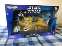VTG * NIB * Star Wars Micro Machines Trilogy Gift Set 1996 GALOOB 67079 NEW !!