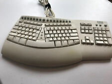Dell By Microsoft Natural Keyboard Pro Tested. Vintage Ergonomic USB Wired