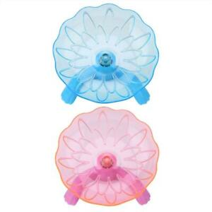 High Quality Hamster Plastic Running Disc Flying Saucer Exercise Wheel Toy