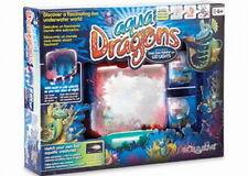 Aqua Dragons Underwater Box Kit - Deep Sea Habitat / LED Live Aquatic Water Pet