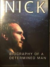 Nick Vujicic Biography Of A determined Man DVD Rare