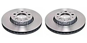 Front Brake Disc x2 Pcs FEBI Fits VOLVO S60 I S80 V70 II Xc70 272403