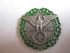 WH Polizei Bergführer Reichsadler Edelweiß Pin Wehrmacht WK2 Button Anstecker