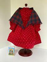 American Girl Kirsten School Dress Shawl 1990 Pleasant Company