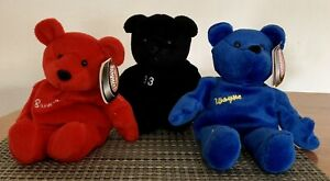 NWT Lot of 3 Salvino's Bammers Player Beanie Bears Gretzky, Shanahan, Wells 1999