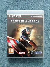 Sony PlayStation 3 PS3 CAPTAIN AMERICA SUPER SOLDIER Sega Video Game (b)