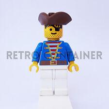 LEGO Minifigures - 1x pi009 - Pirate - Pirati Omino Minifig 6285 6257 6270 6260