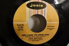 The Meters, Cissy Strut/Here Comes The Meter Man, Josie 45-1005, 1969, Funk