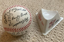 "1987 Minnesota Twins World Series ""Autographed"" Baseball with stand"