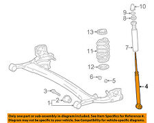 TOYOTA OEM 2003 Echo Rear-Shock Absorber or Strut 4853059895