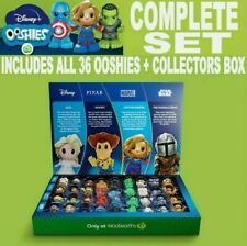 Woolworths Ooshies Complete Set of 36 + 4 RARE Glitters +Collectors Case. RARE!!