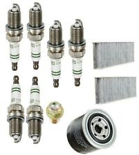 NEW Acura CL 01-03 Tune Up Kit Drain Plug & Spark Plugs & Oil Filter And Cabin
