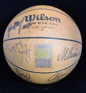 Phoenix Suns 1979-80 Team Signed Basketball JSA Authenticated