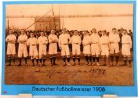 Viktoria Berlin + Deutscher Fußball Meister 1908 + Fan Big Card Edition F23 +