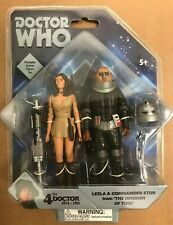Doctor Who Invasion of Time Leela&Sontaran Commander Stor Action Figure Set NEW