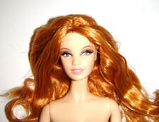 Nude Barbie Strawberry Blonde Aphrodite Model Muse Doll For Ooak q01
