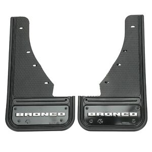 NEW OEM 2021 Ford Bronco Sport Front Gatorback Heavy Duty Splash Guards Black