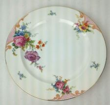 "Epiag Czechoslovakia Bridal Rose White 10 1/4"" Dinner Plate 5522"