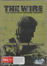 D.V.D MOVIES.DB101 THE WIRE /THE COMPLETE SECOND SEASON STILL SEALED 5 DISC SET
