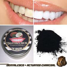 ZAHNWEIß aus Aktivkohle,Zahnpolitur ohne Chemie|weiße Zähne,Pulver,Bleaching,bio