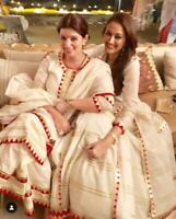 Indian kurta dress With dupatta  palazzo Top Tunic Set blouse Combo Ethnic-id15