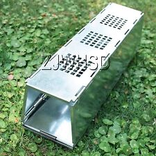 Animal Humane Live Trap Critter Steel Cage Folding - Mouse Mice Rat Squirrel
