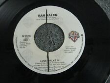 """Van Halen love walks in - 45 Record Vinyl Album 7"""""""