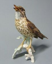 Goebel Vogel Figur, Singdrossel, Modell-Nr. CV 115, Höhe 15,5 cm
