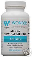 MEGA SAW PALMETTO #9212 - 250 Softgels