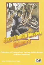 ITALIAN MOVIES TRAILERS DVD Vol 2 Giallo Euro Crime Horror Argento 22 Trailers