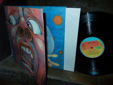 KING CRIMSON: In the Court of / Island 9101 660 6396 0232 France stereo LP VG++