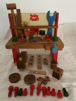 Giocattolo vintage Sevi - Tavolo Da Lavoro Baby Hobby - anni '60/ '70