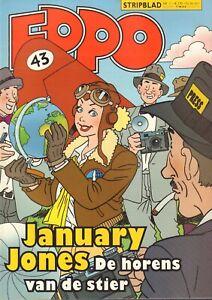 STRIPBLAD EPPO 2011 nr. 11 - JANUARY JONES(COVER)/STORM/MAX MILLER/DE PARTNERS
