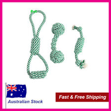 Dog Rope Chew Toy - Pack of 3 Durable Dog Teething Chew Toys (Free Shipping)
